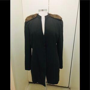Giorgio Armani mink jacket